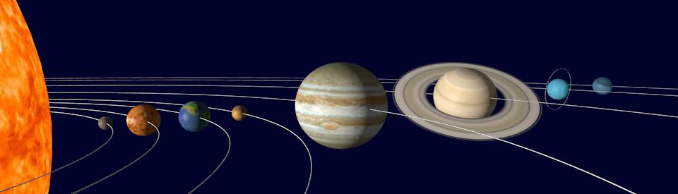 Planets Write-a-Mat x 4