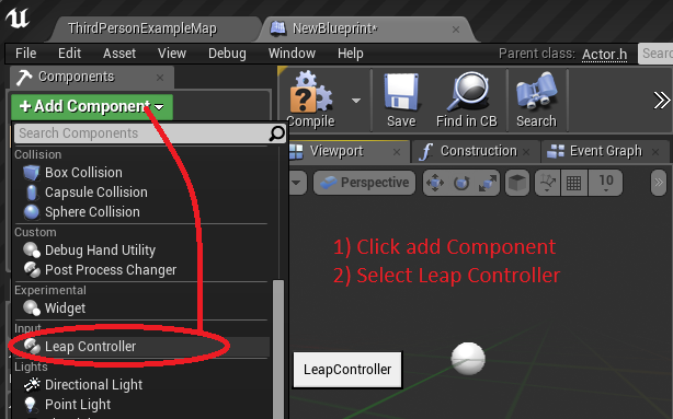 GitHub - getnamo/leap-ue4: Leap Motion plugin for Unreal