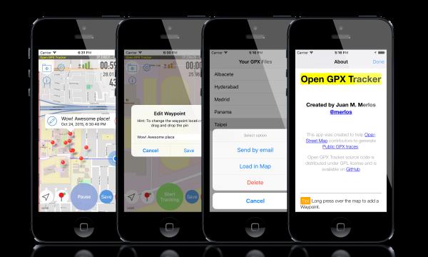 GitHub - merlos/iOS-Open-GPX-Tracker: GPS Tracker app for