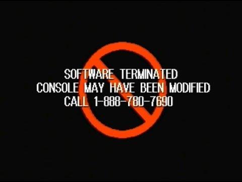 Anti-Modchip screen