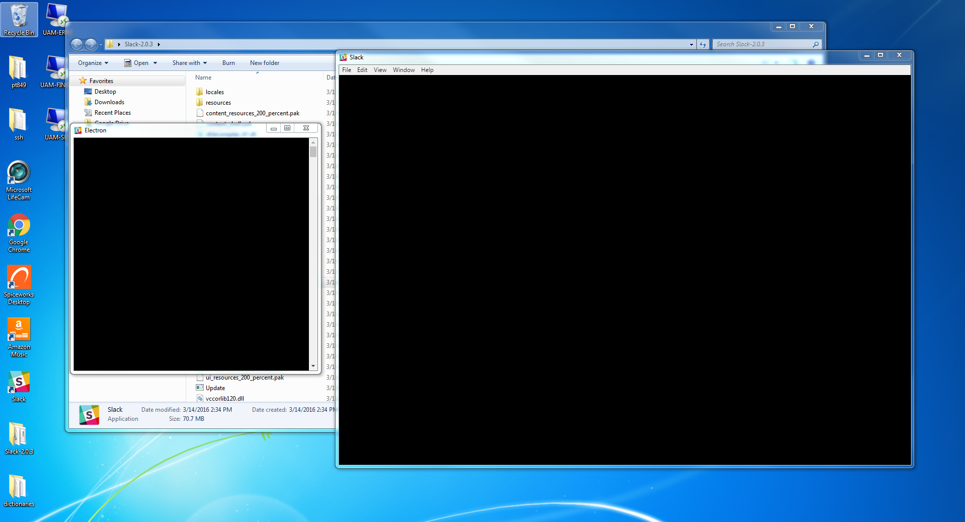 Black screen with an nvidia gpu issue 4380 electron for Windows black screen