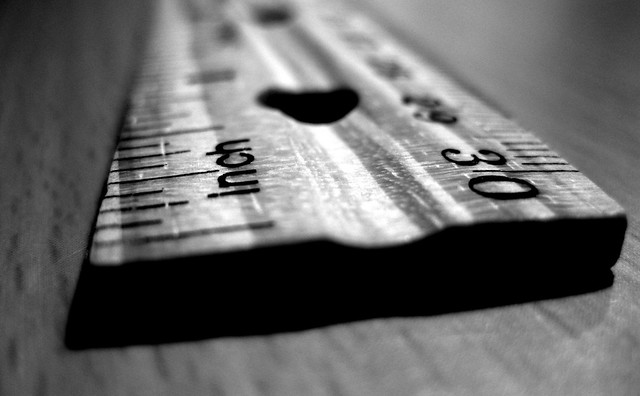 Ruler - http://www.flickr.com/photos/sterlic/4299631538/