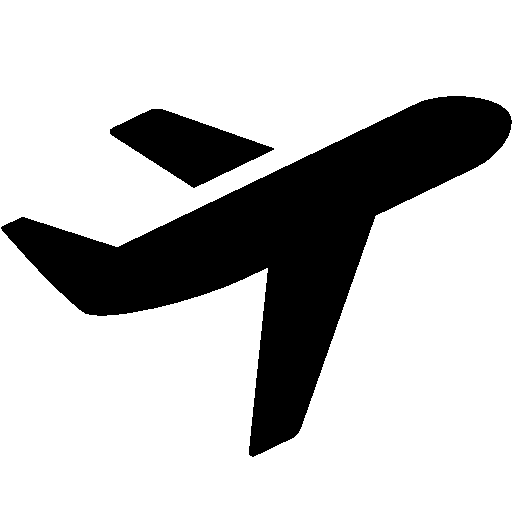 Airplane Icon Transparent | plane travel in 2019 | Travel ...