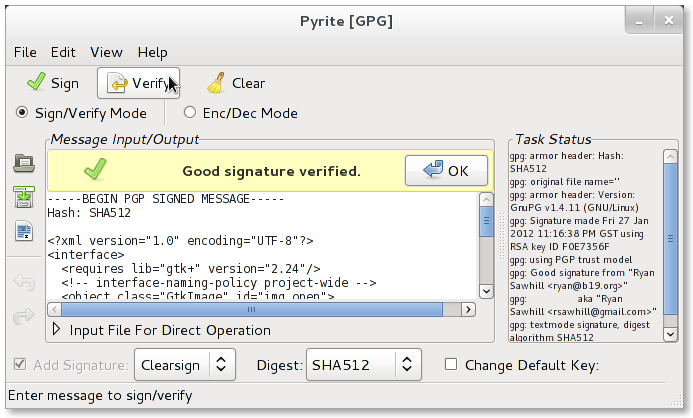 GitHub - ryran/pyrite: OpenSSL/GnuPG encryption/signing gui for