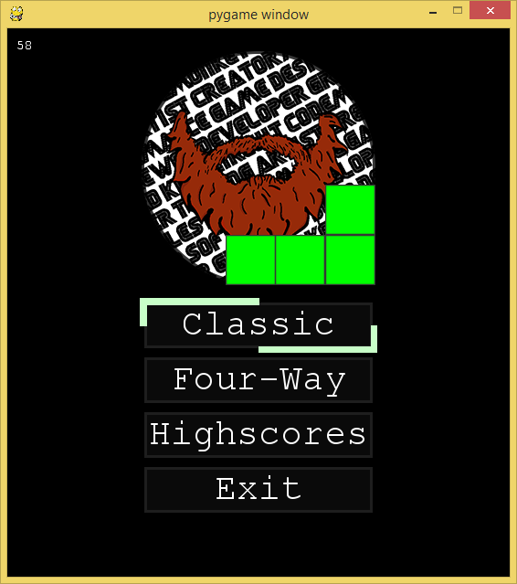 GitHub - mionick/Tetris-Pygame: Making a classic game