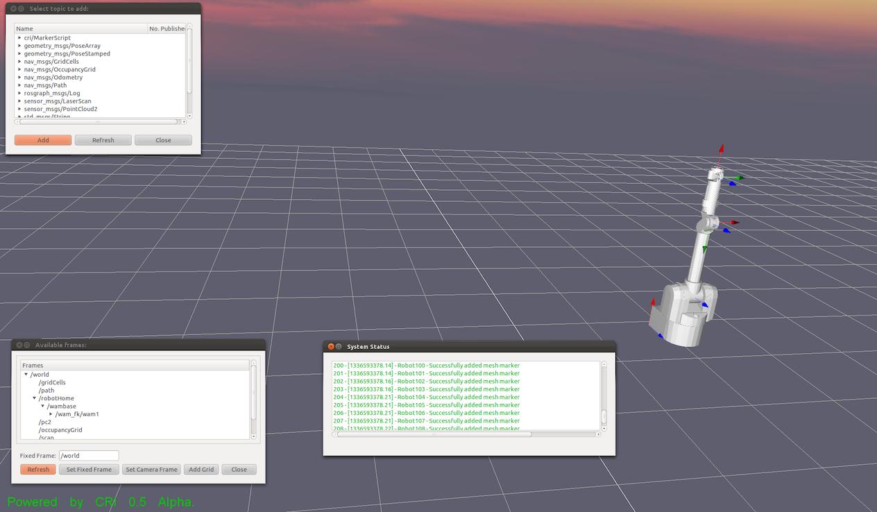 CRI screenshot