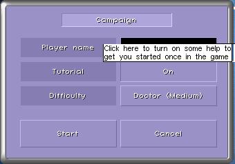 turn on tutorial