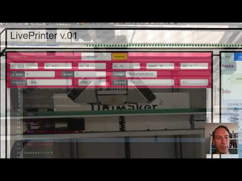 video of LivePrinter in action