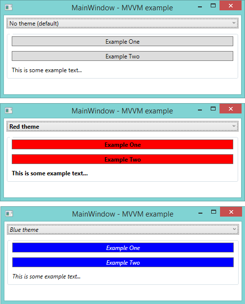 Oriches/Simple.Wpf.Themes: A Simple Theme Manager
