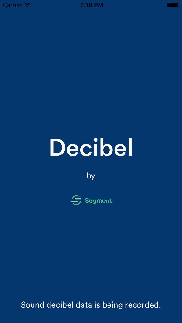 GitHub - segmentio/decibel: A small iOS app for recording office