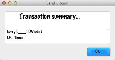 schedule transaction