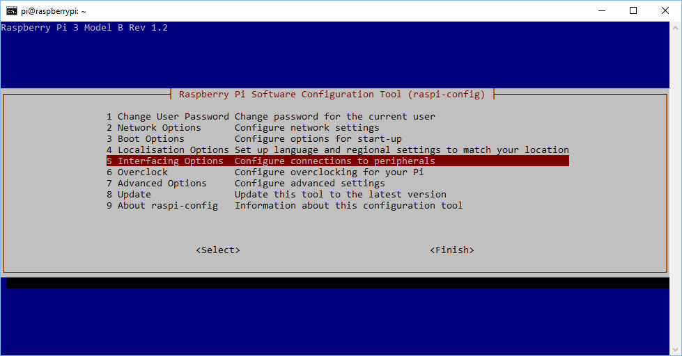 Raspberry Pi Software Configuration Tool (raspi-config)