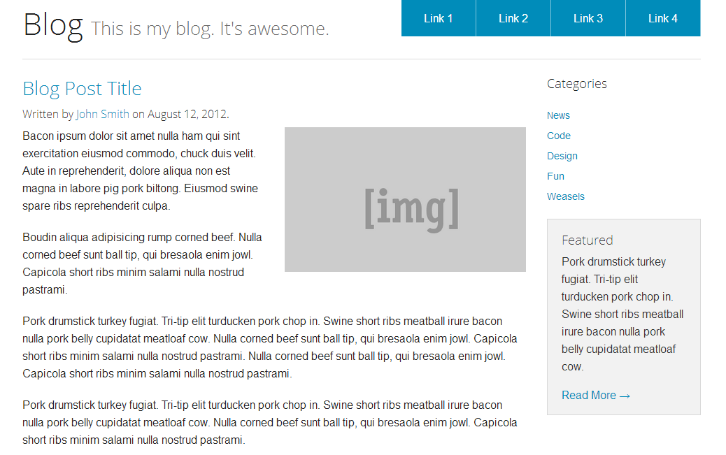 F5 Sass Blog Template Doesn\'t Match Live · Issue #4171 · zurb ...