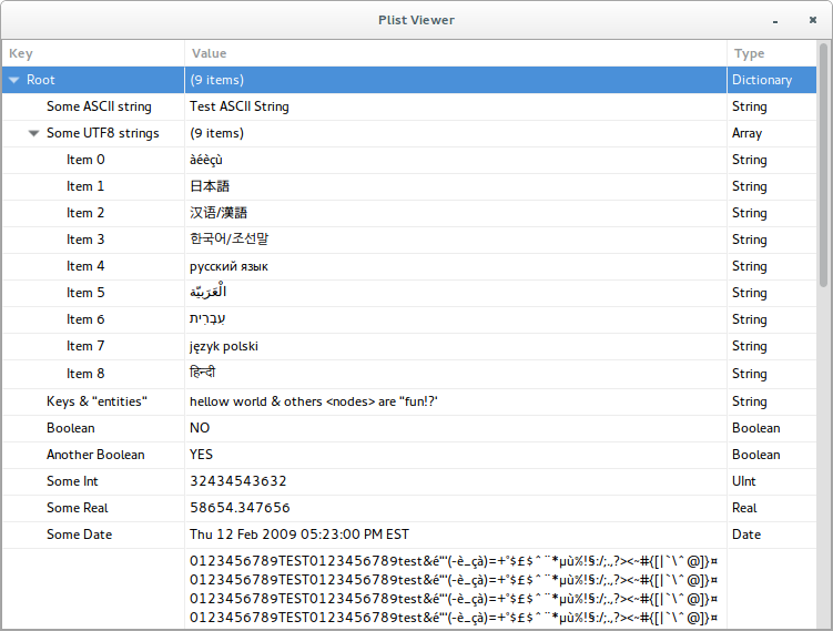 plist-viewer screenshot