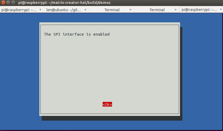 SPI enabled