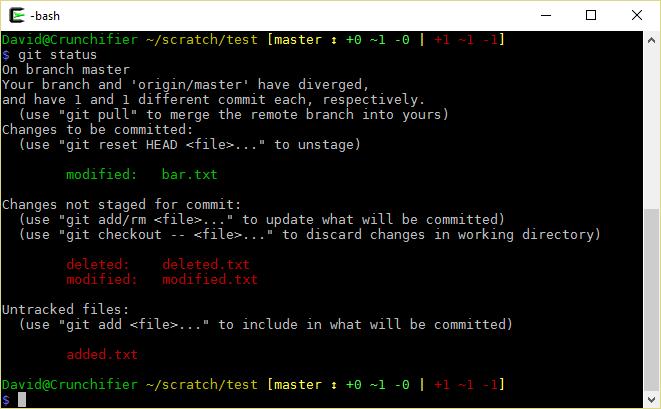 GitHub - lyze/posh-git-sh: Bash/ZSH version of the posh-git command