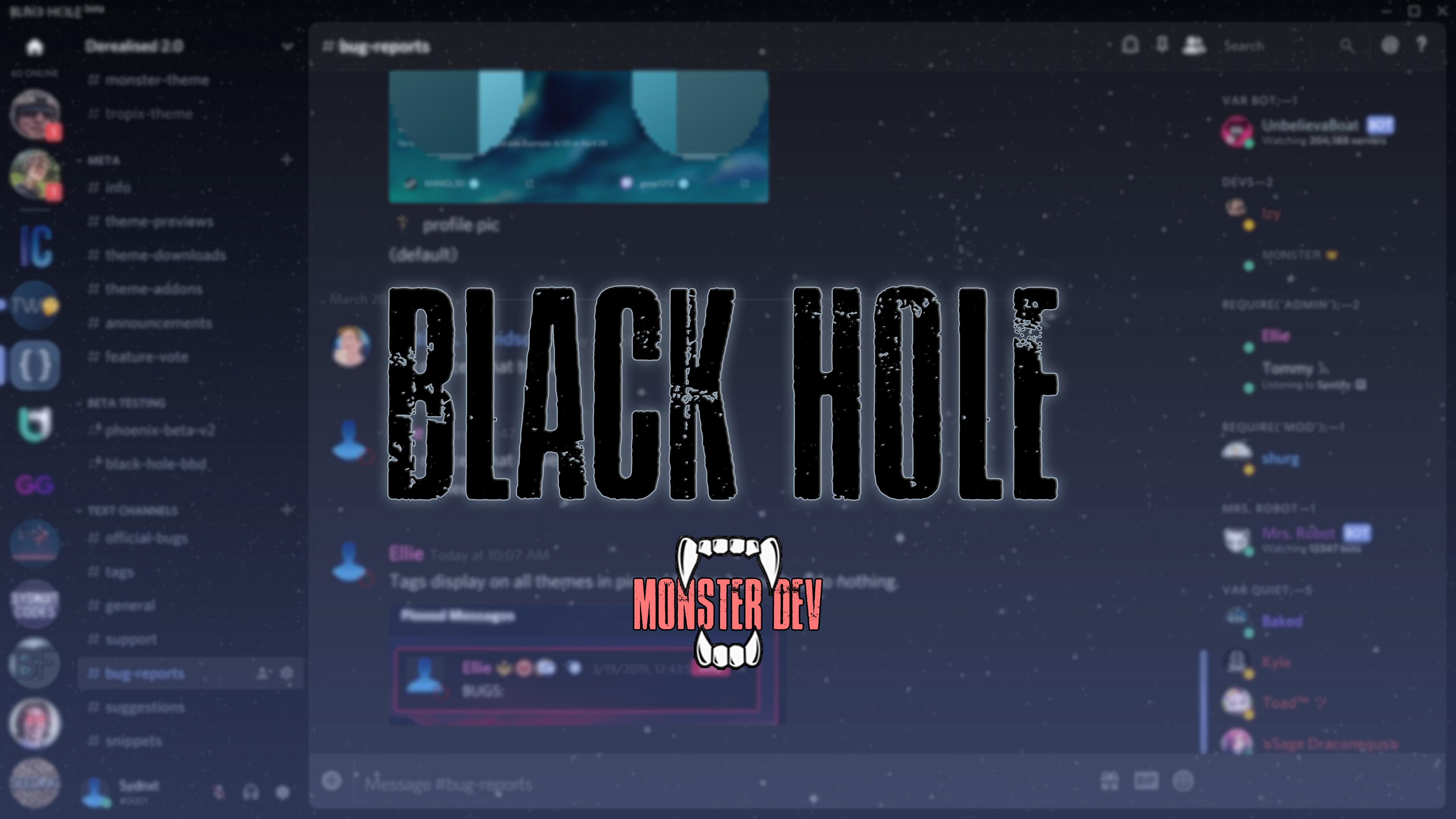 GitHub - monstrousdev/themes: Discord themes