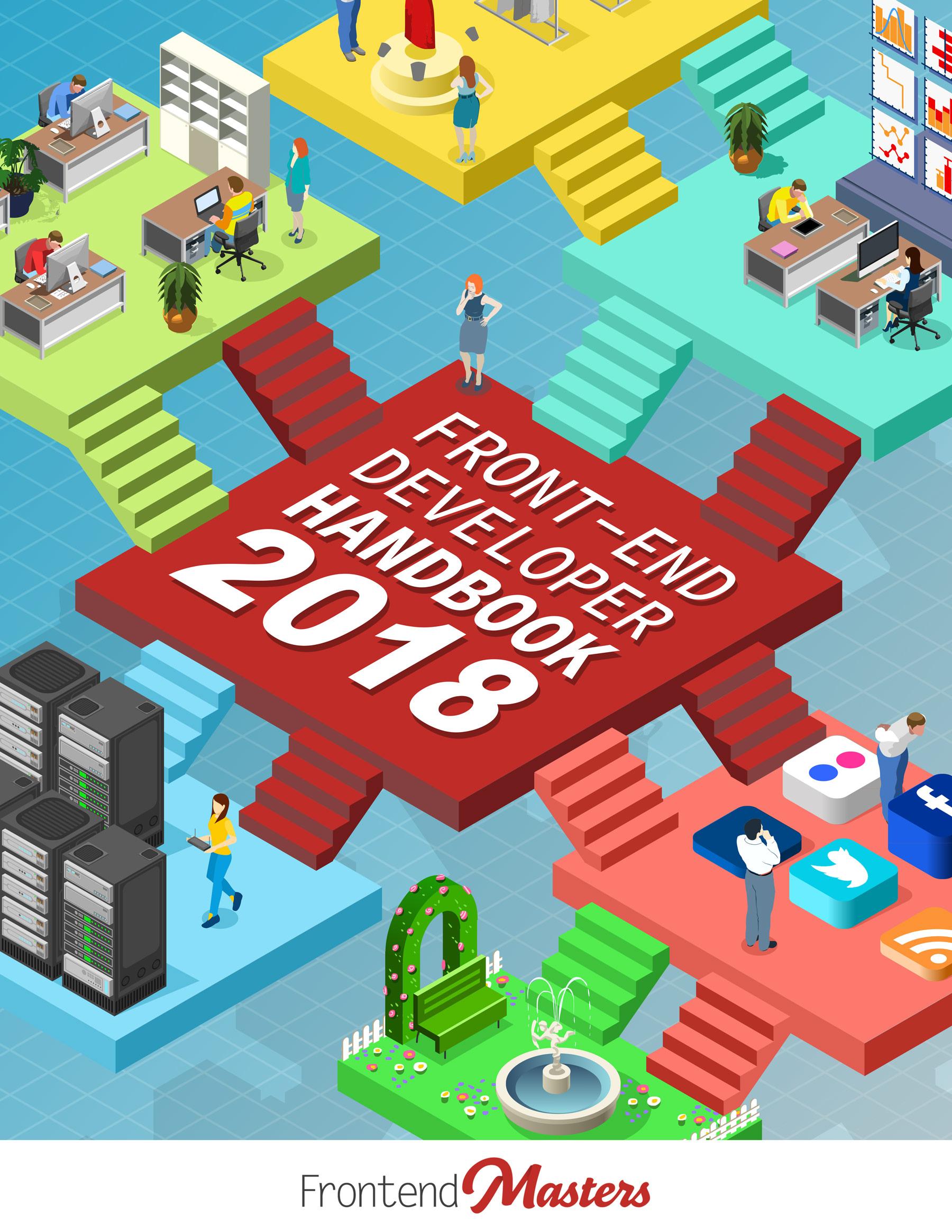 Front End Developer Handbook 2018 Cover