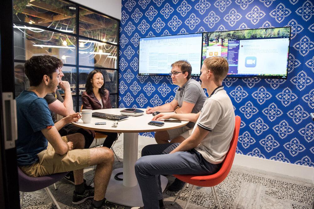 Skyscanner Office: Meeting