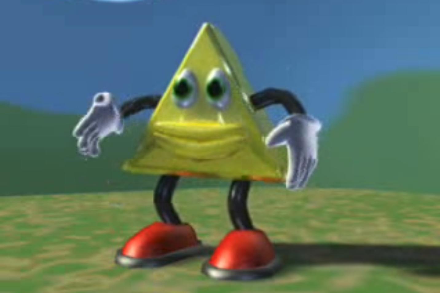 triangulo dançante