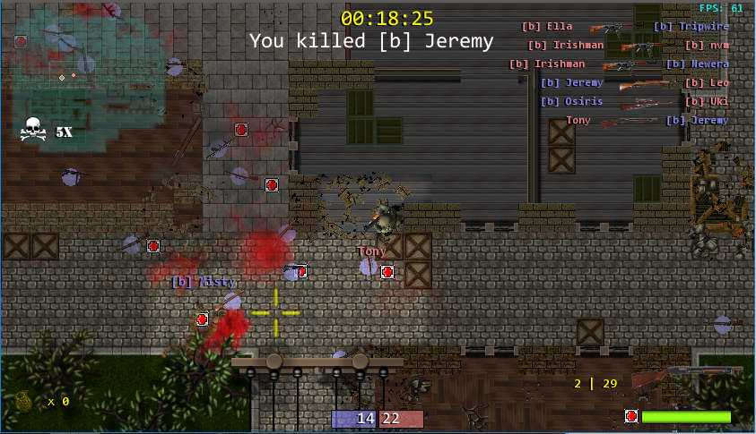 GitHub - tonysparks/seventh: A top down 2D Shooter game