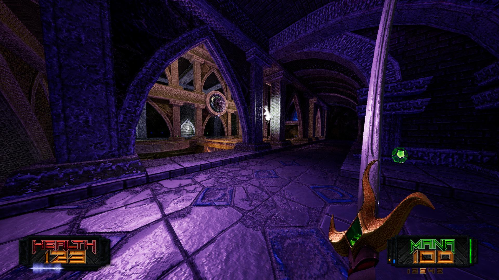 AMID EVIL screenshot original without CRT emulation