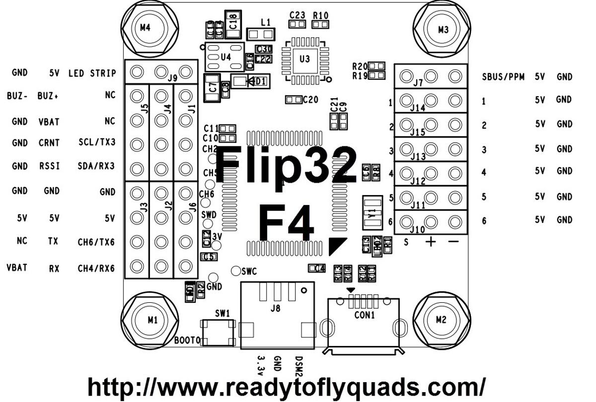 Diagram F2 AirbotF4 - Flip32
