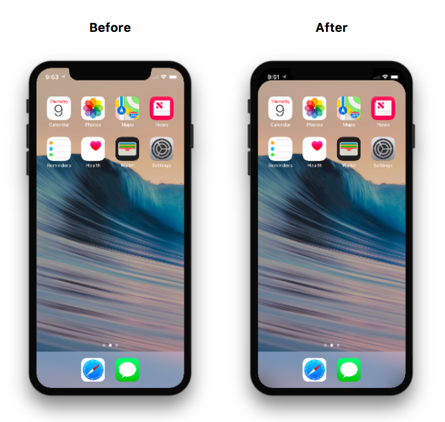 Github Dylanpyle Denotchify Hide The Iphone X Notch Using Your