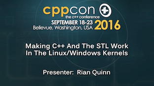 CppCon 2016