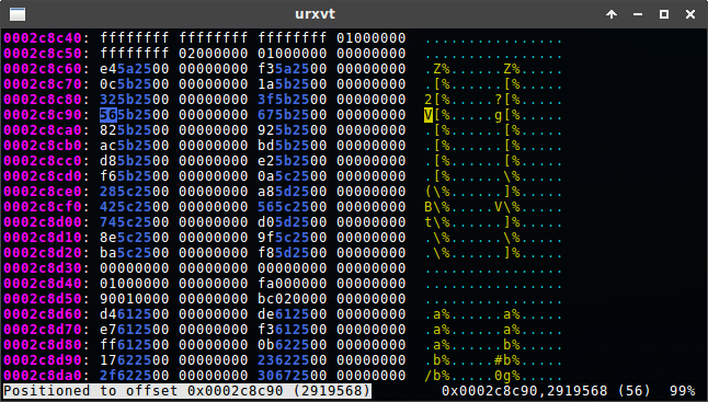 GitHub - krpors/hx: Hex editor for the terminal using plain