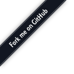 Fork me on GitHub