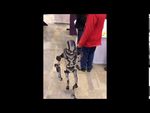 Robot Kyle Walking