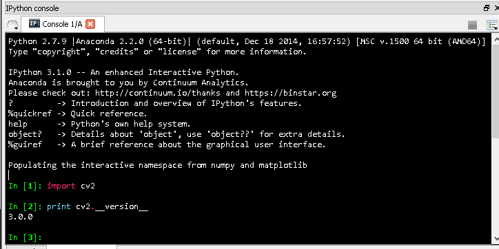 OpenCV-Python – How to install OpenCV-Python package to Anaconda