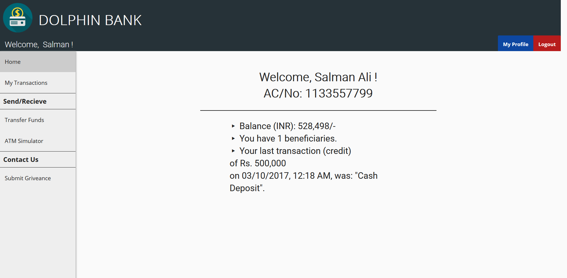 GitHub - zakee94/online-banking-system: Online banking system in PHP