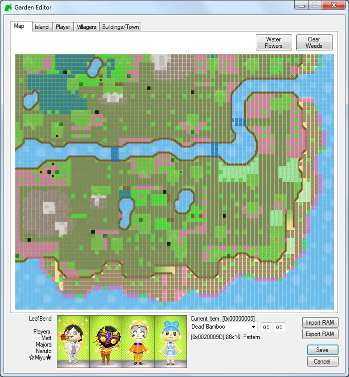 Github kwsch nlse animal crossing new leaf save editor for Building map maker