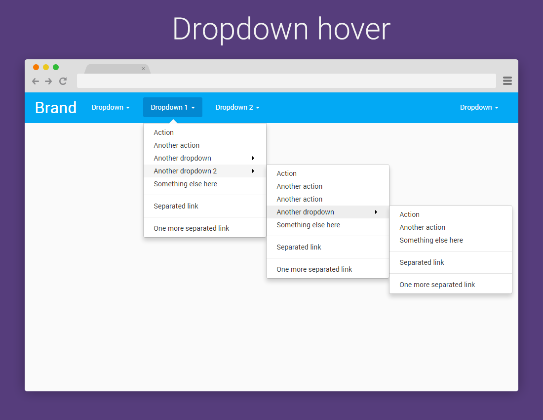 Drop Down Part - 22: Bootstrap 3 Dropdown On Hover