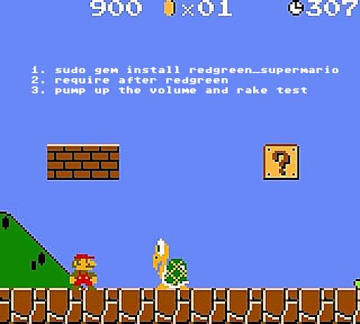 Super Mario is super.