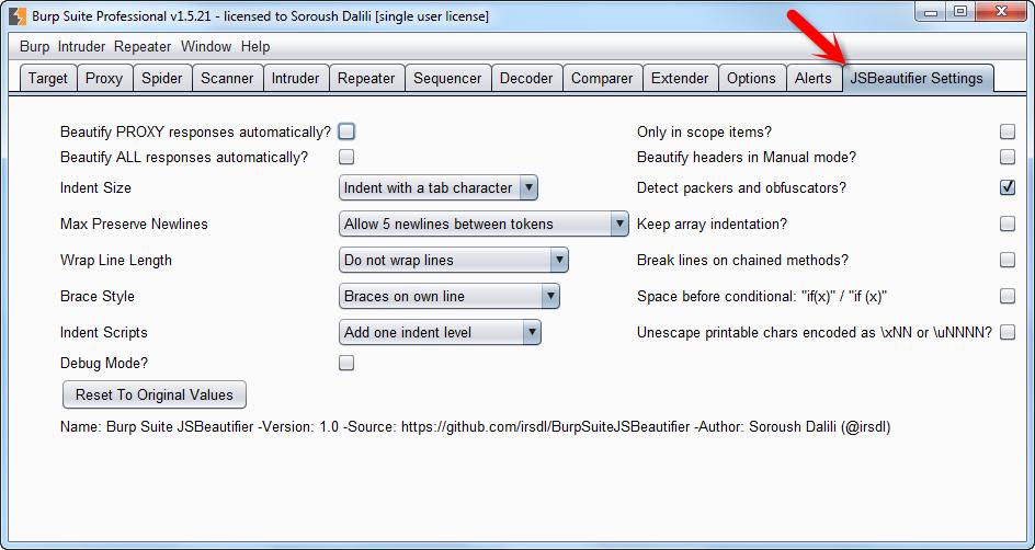 Direct - Burp Suite Professional Edition V1 6 09 Retail