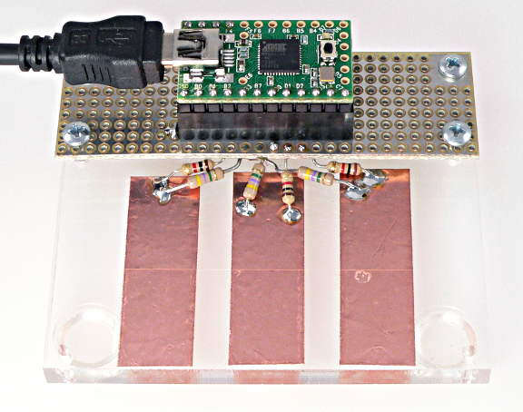 CapacitiveSensor Demo