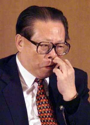 jiang zemin former president china