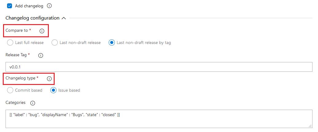 GitHub release task enhancements