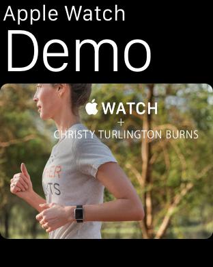 Apple Watch Demo