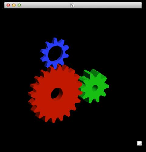 OpenGL glxgears
