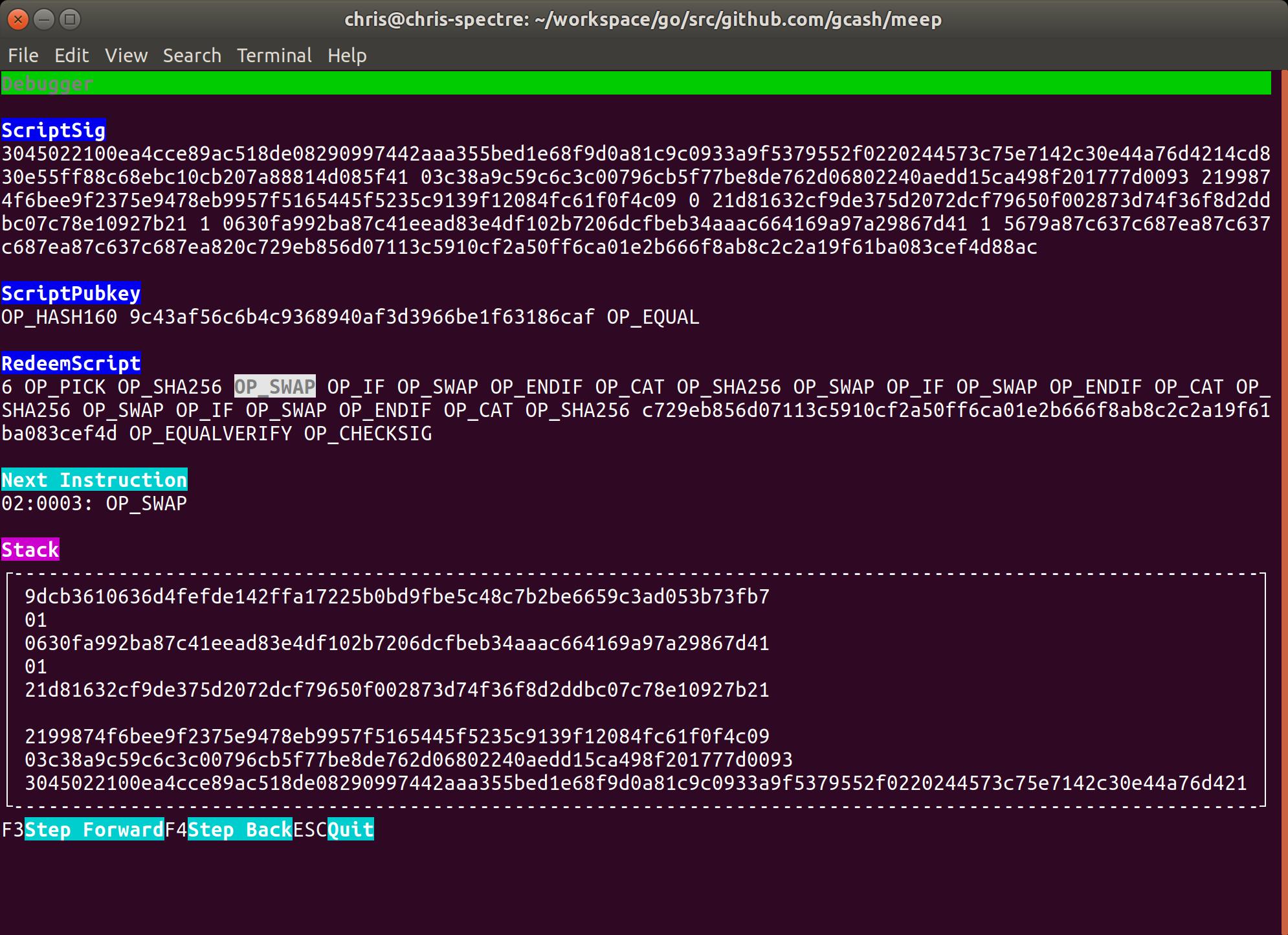 GitHub - gcash/meep: Meep is a command line Bitcoin Cash