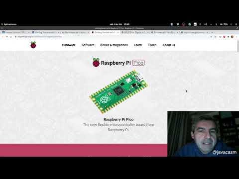Vídeo: primeros pasos con Raspberry Pi Pico en micropython