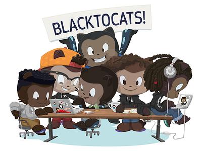 Black Ocktocats