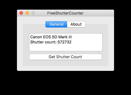 freeshuttercounter 1.2.1 screenshot