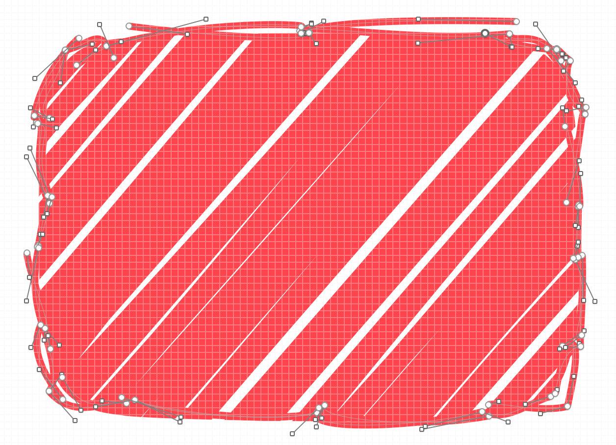 如何画一个 PinkBee 图标?