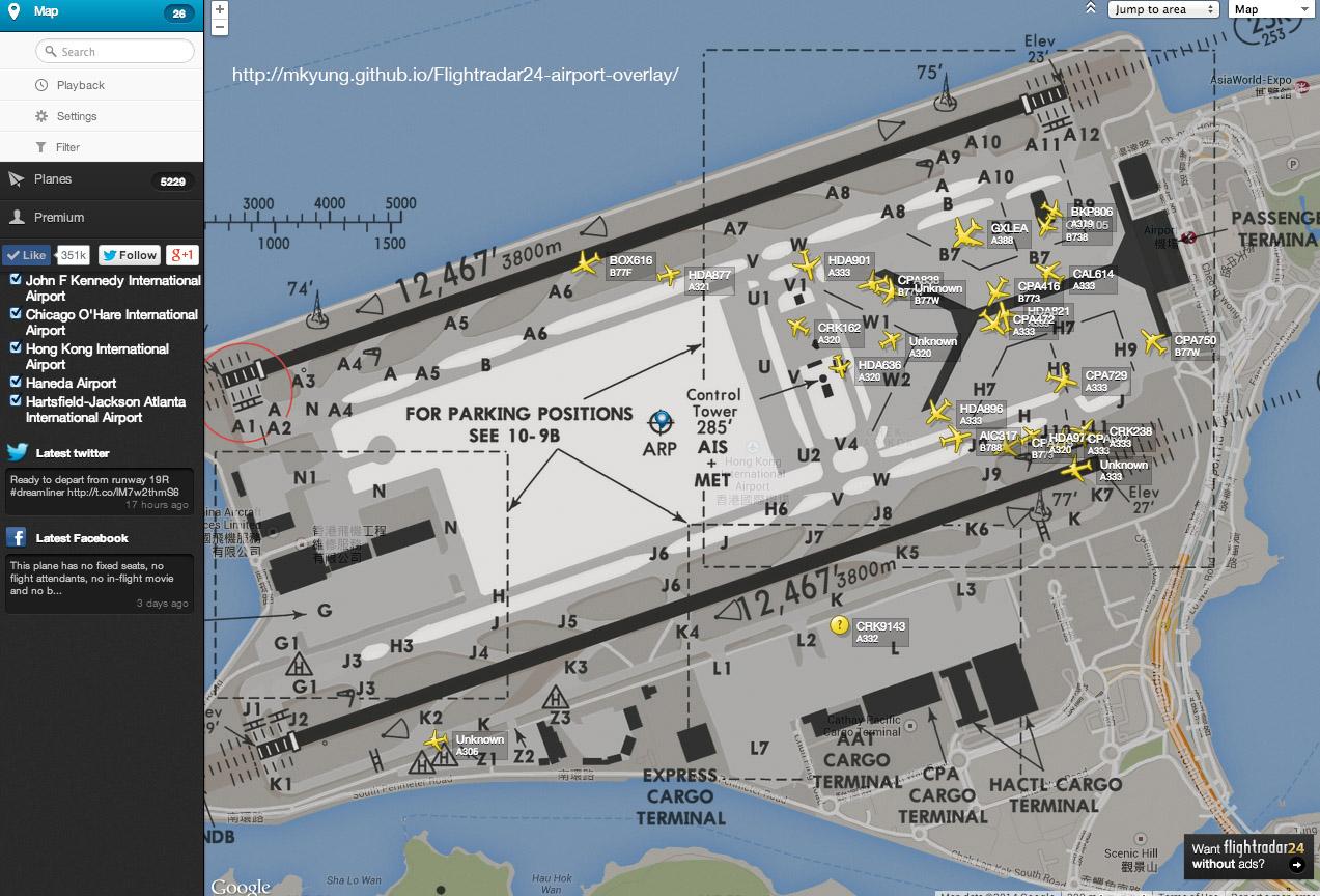 GitHub - mkyung/Flightradar24-airport-overlay: An addon to label