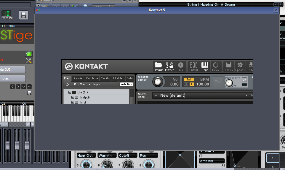 LMMS wont load Kontakt player gui · Issue #109 · LMMS/lmms